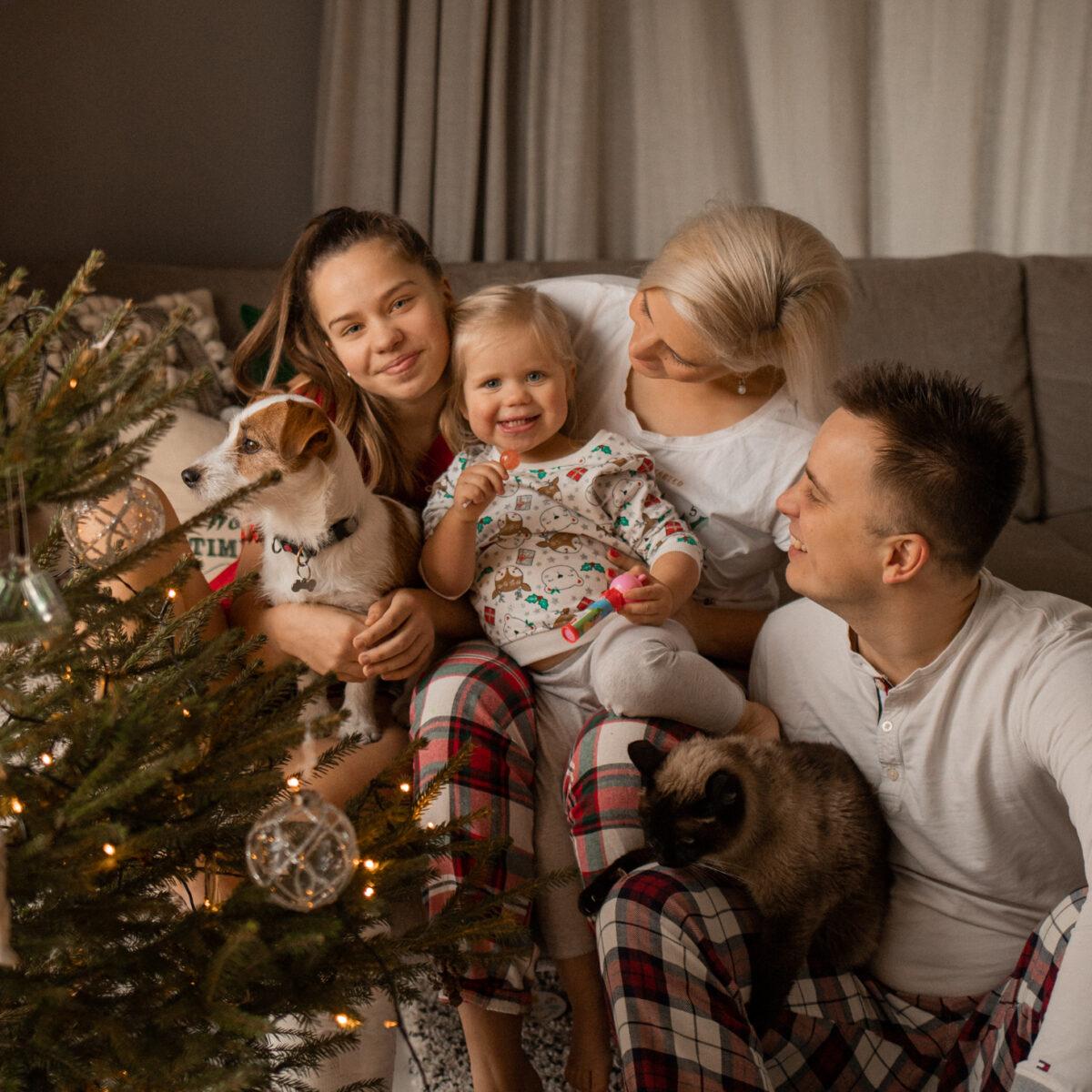 Kodune jõulufotosessioon